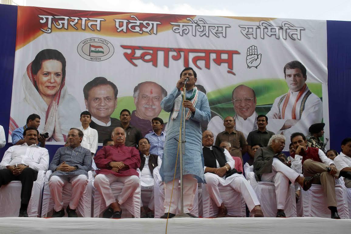 Vaghela, Solanki on Delhi visit