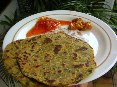 how to make methi thepla for travel