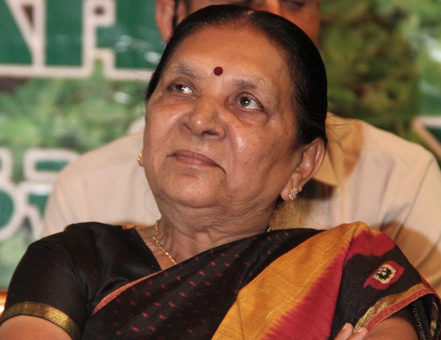 Anandiben Patel appointed as Governor of Madhya Pradesh