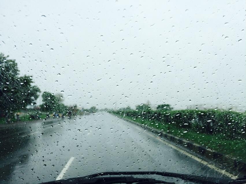 Non seasonal rain again in parts of coastal Saurashtra and North Gujarat