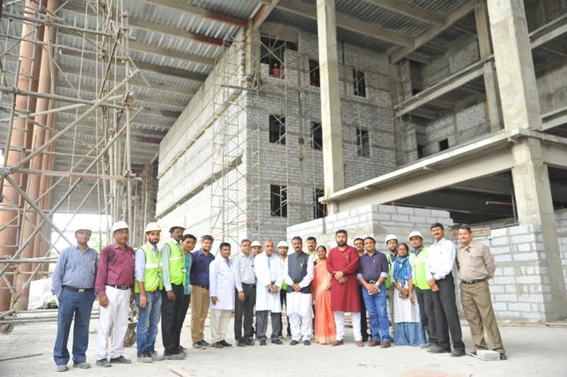 60 Construction Work Of 19 Floor New Amc Hospital
