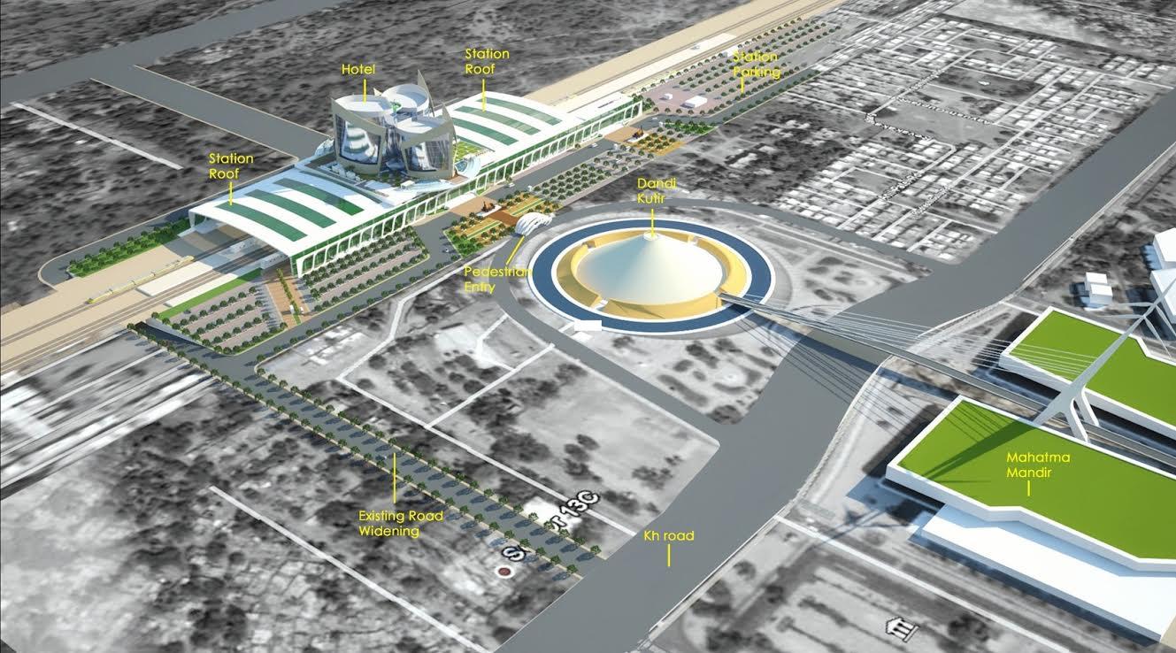 Gandhinagar Railway Station reconstruction: Gujarat govt shares official details of the grand project