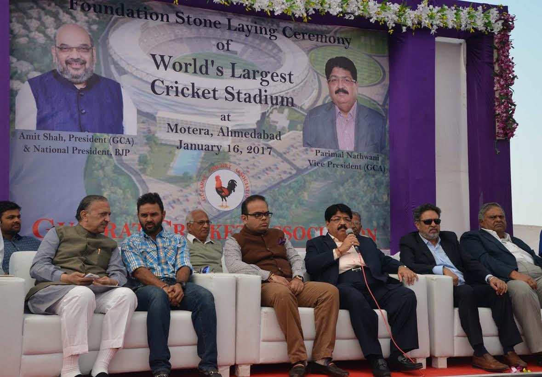 Grand Felicitation of Gujarat's Ranji Team by GCA Shortly: Nathwani