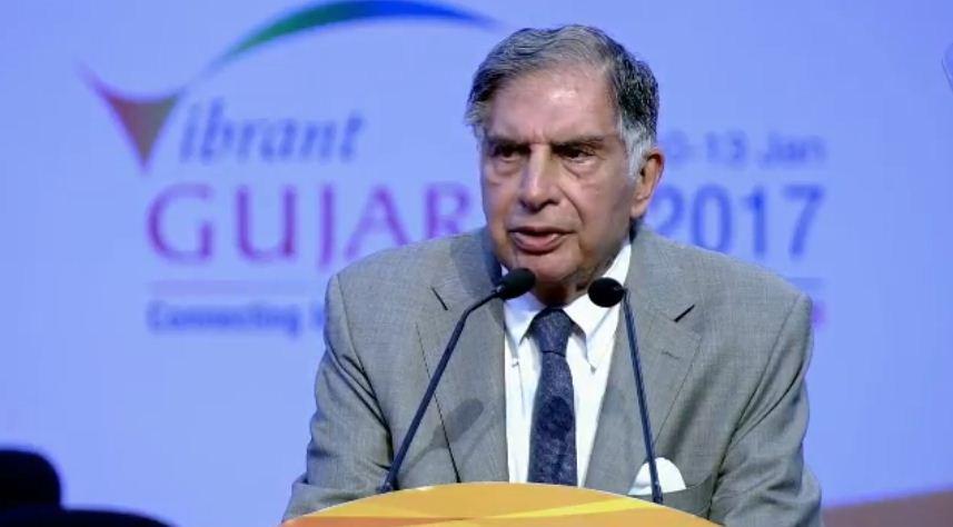 Full text of Tata Group Chairman Ratan Tata's speech at Vibrant Gujarat Summit 2017