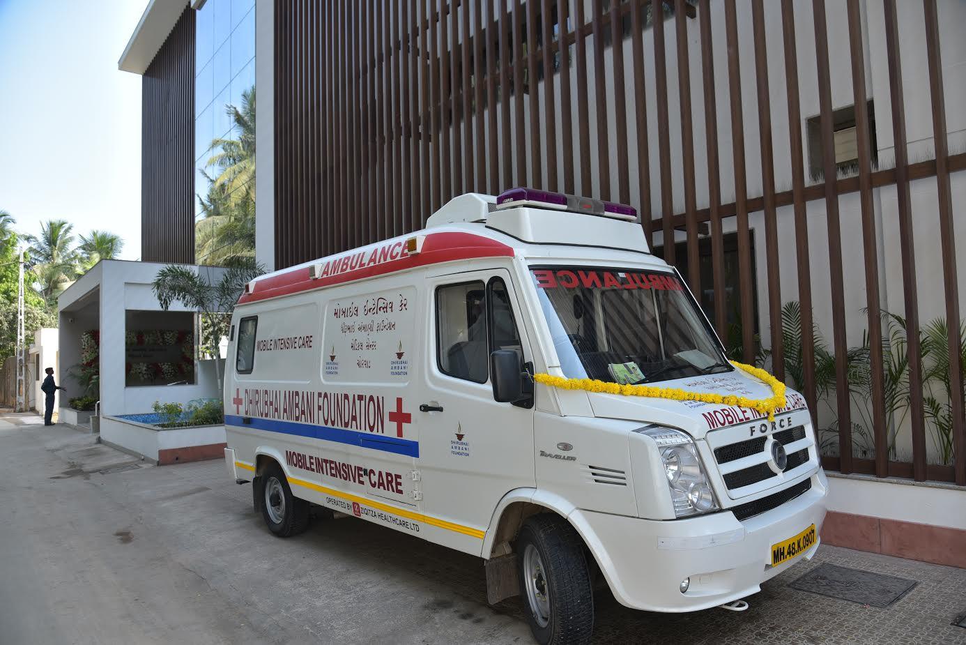 Dhirubhai Ambani Foundation Medical  Centre opens at Chorwad; 75,000 from 25 villages to benefit
