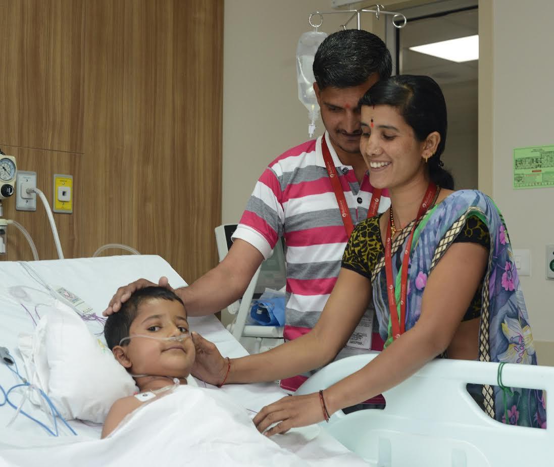 રિલાયન્સ ફાઉન્ડેશન હોસ્પિટલમાં છ વર્ષના બાળક પર અત્યંત જટિલ સર્જરી સફળ