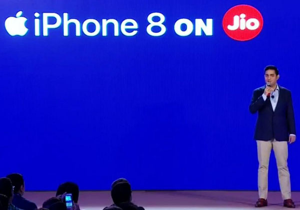 iPhone 8 and iPhone 8 Plus unveiled in India from Jio Campus; special tariff plans, 70% Buyback Scheme announced