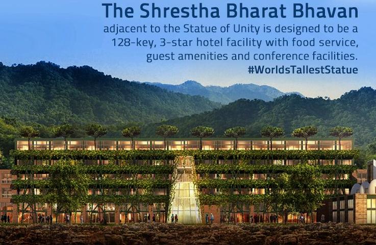 Possession of land for service building of Shreshtha Bharat Bhavan taken