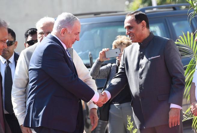 16 MoUs inked during Rupani's Israel visit